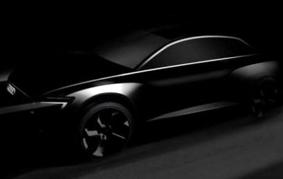 Элктроссовер будущего Audi Q6 e-tron