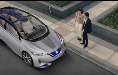 Новое поколение Nissan Leaf — великолепный ролик