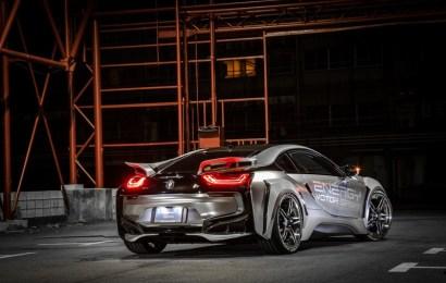 Еще более спортивный BMW i8