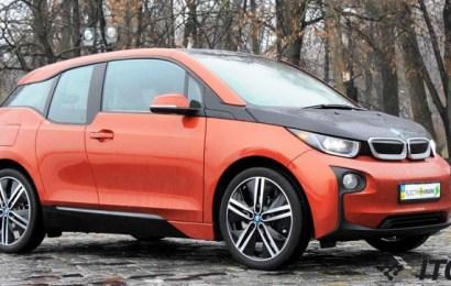 BMW i3 в Киеве: знакомьтесь!