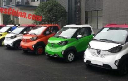 Новый электромобиль Baojun E100 city EV