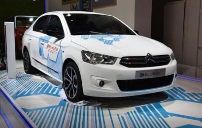 Новый электромобиль E-Elysee от компании Citroen