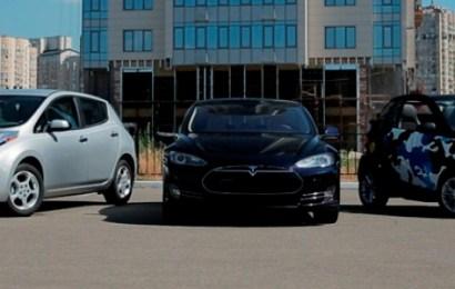 Рост продаж электромобилей