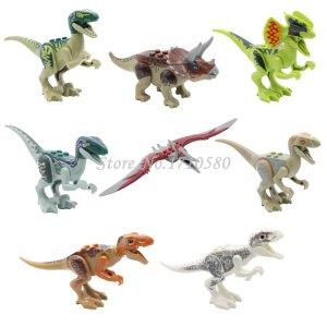 Jurassic-World-Park-Minifigures-Dinosaur-Bricks-Mini-Figures-Building-Blocks-Super-Heroes-Compatible-Lego-Kids-Toys