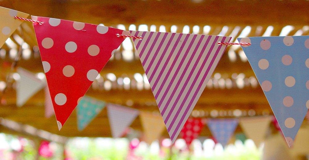 Foto amb posible decoració d'una festa d'aniversari.