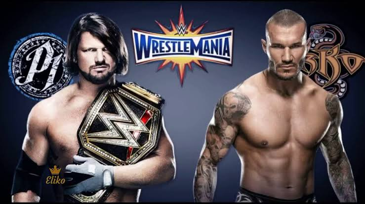 Confirmado Randy Orton vs Aj Styles en Wrestlemania