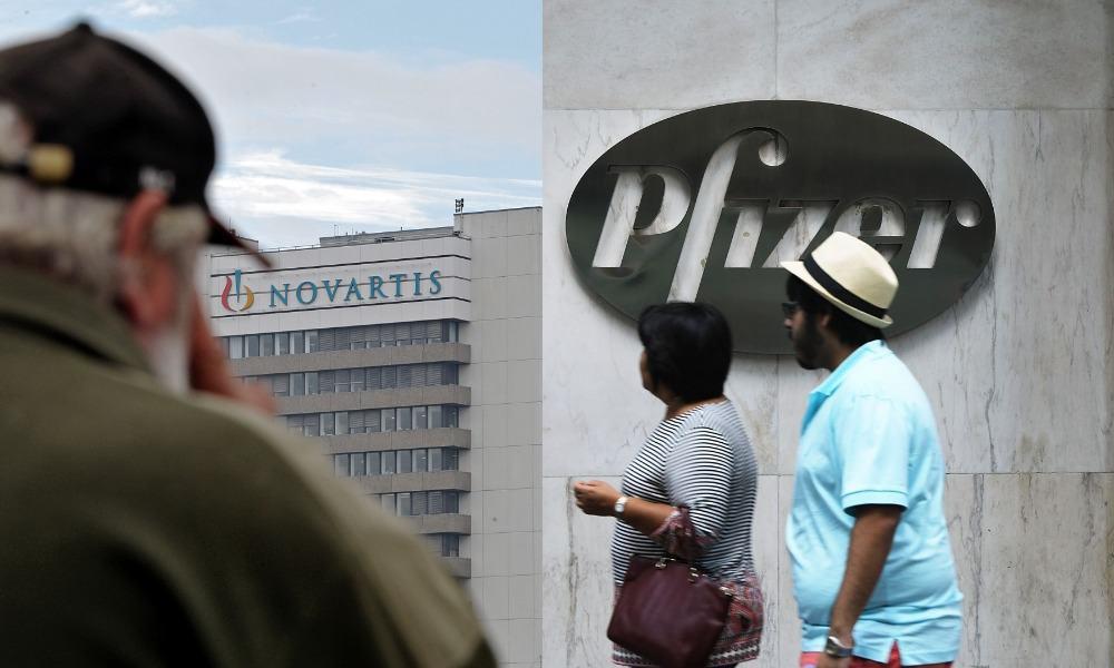 Pfizer, Novartis