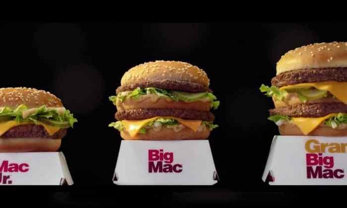 Big Mac, McDonalds