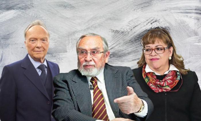 Alejandro Gertz Manero, Bernardo Bátiz Vázquez y Eva Verónica de Gyves Zárate