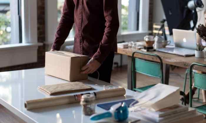 Envío de paquete