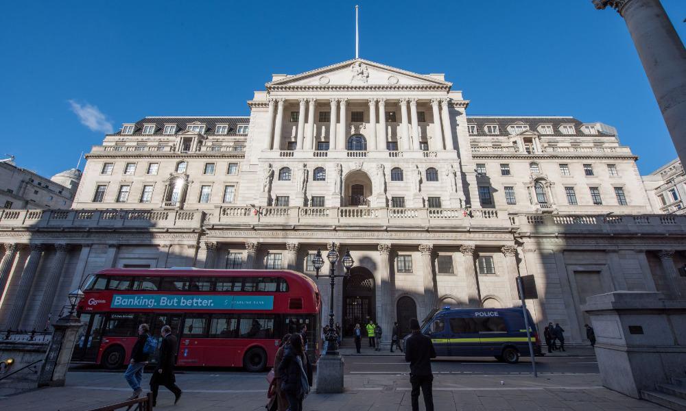 Banco de Inglaterra, BoE