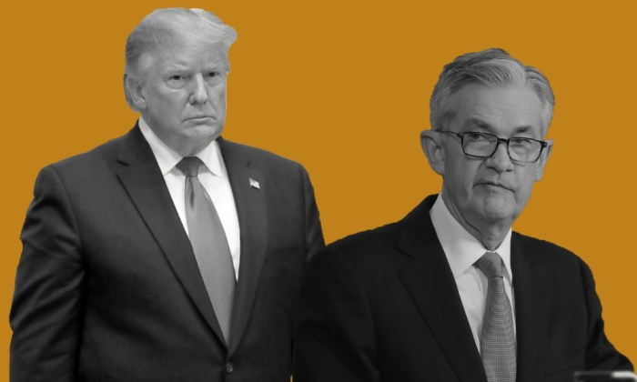 Donald Trump vs. Jerome Powell