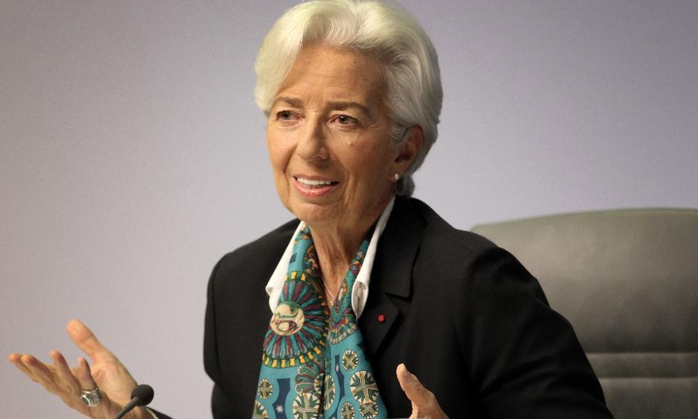 Primera conferencia de Christine Lagarde al frente del BCE