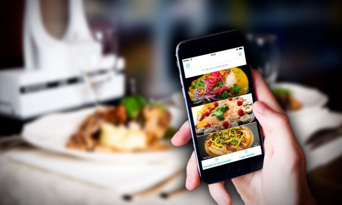 comida via app
