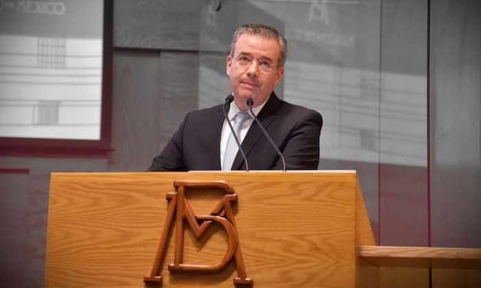 Alejandro Díaz de León, gobernador de Banxico (Foto: Flickr Banxico)