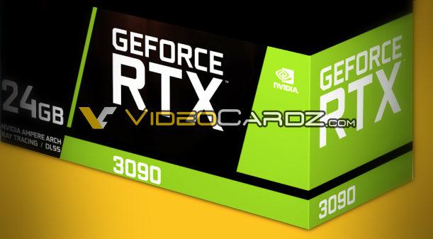 Caja Nvidia GeForce RTX 3090