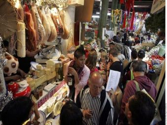Visit Mexico City gourmet's market . Available in our Glimpse of Mexico City http://bit.ly/1bvxKMV and Ciudad de Mercados http://bit.ly/17RRgmY