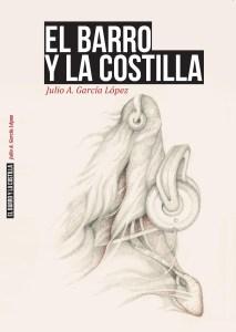 Portada de El barro y la cotilla, dibujo Máximo Carmona y diseño de Pedro Cabañas