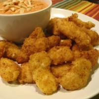 Ancho Chile - White Cheddar Cheese Curds