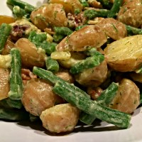Dilled Potato and Green Bean Salad