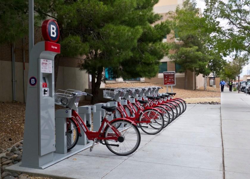 ep bike share station