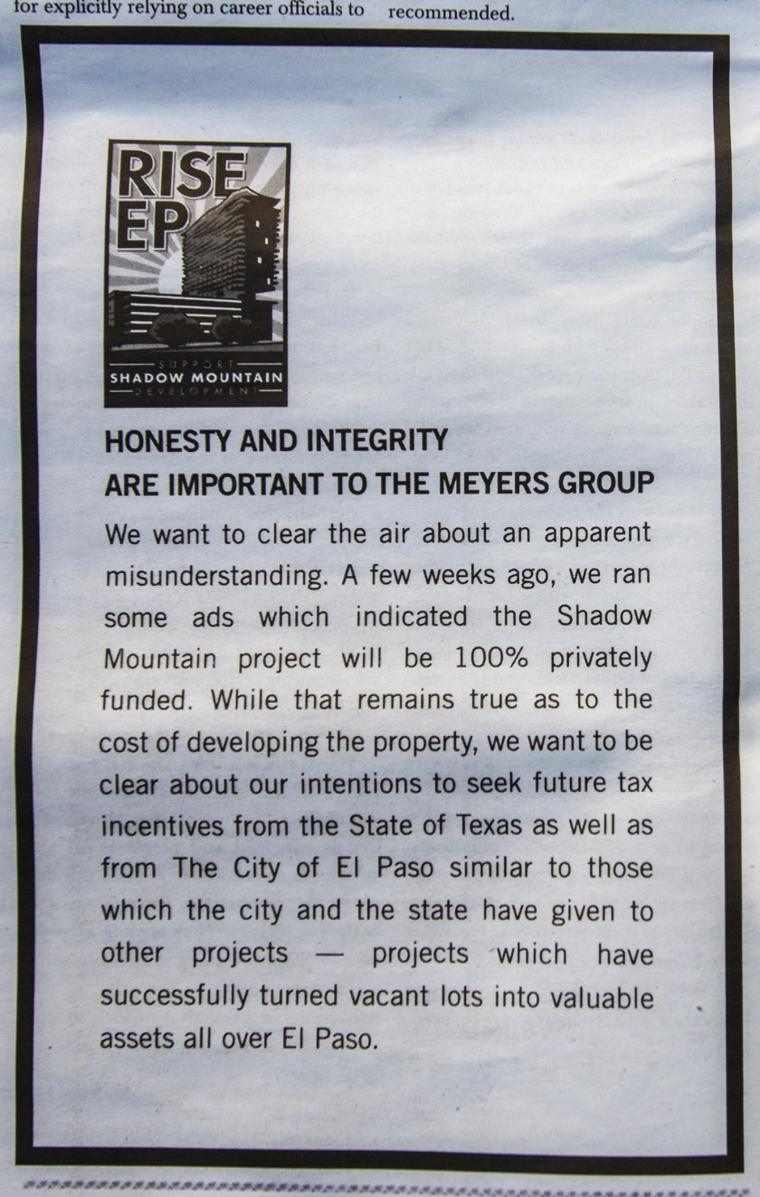 Meyer's Group Honesty and Integrity