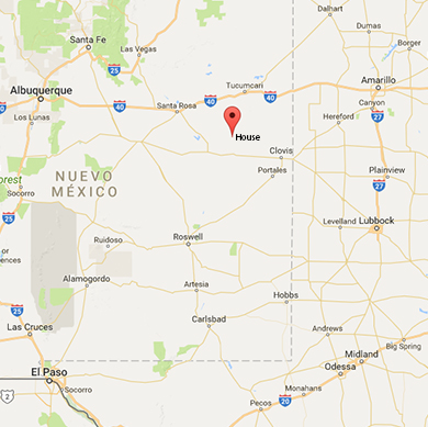 City of Dust House New Mexico  El Chuqueo