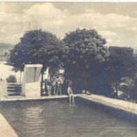 La antigua piscina municipal de Elciego