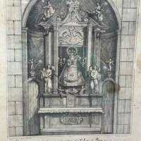 1844.- Litografía de la Virgen de la Plaza