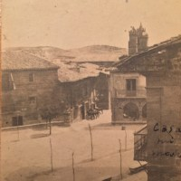Plaza Mayor en la década de 1920