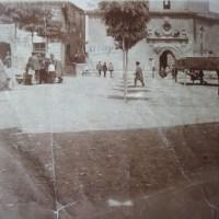 Plaza Mayor a principios del siglo XX