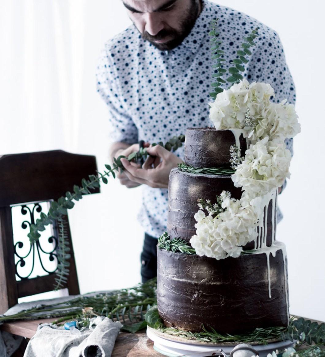 Chocolate Wedding Cake 03
