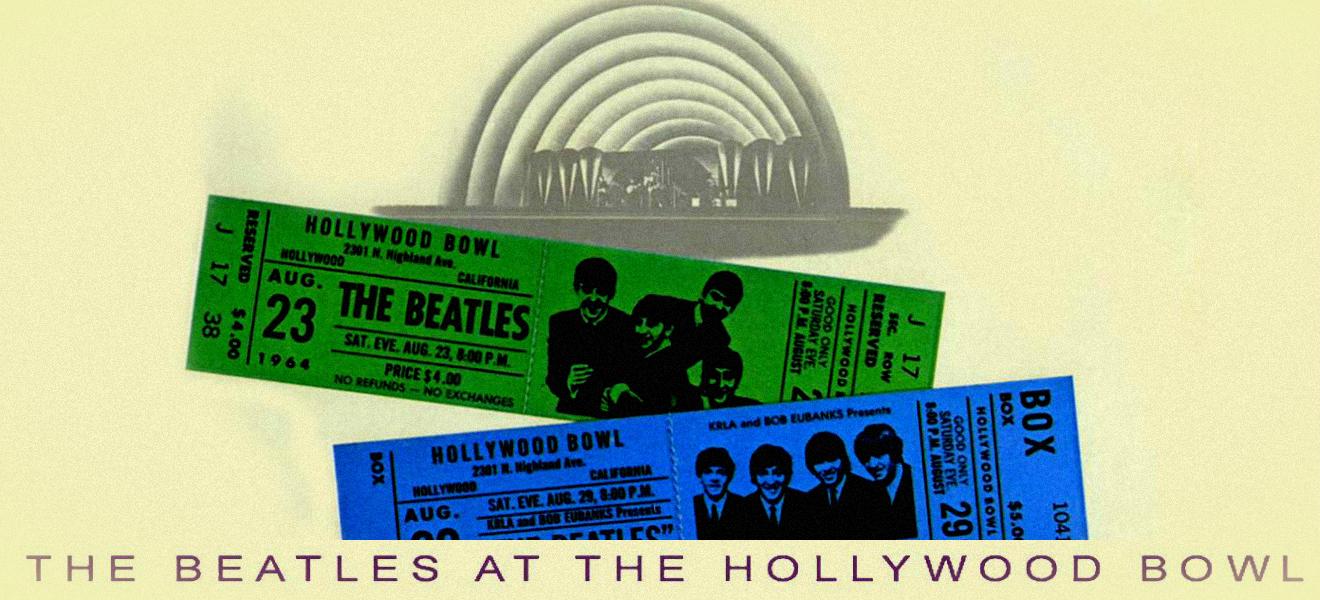 En vivo en el Hollywood Bowl, el disco oficial en concierto de The Beatles.