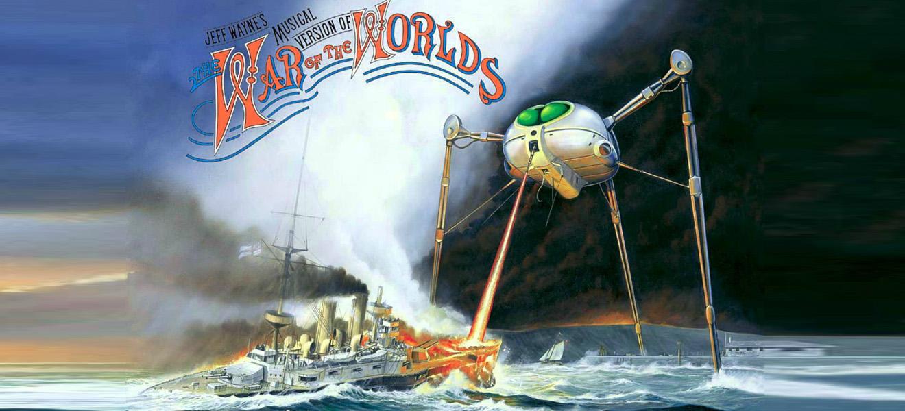 La Guerra De Los Mundos, el musical de Jeff Wayne.