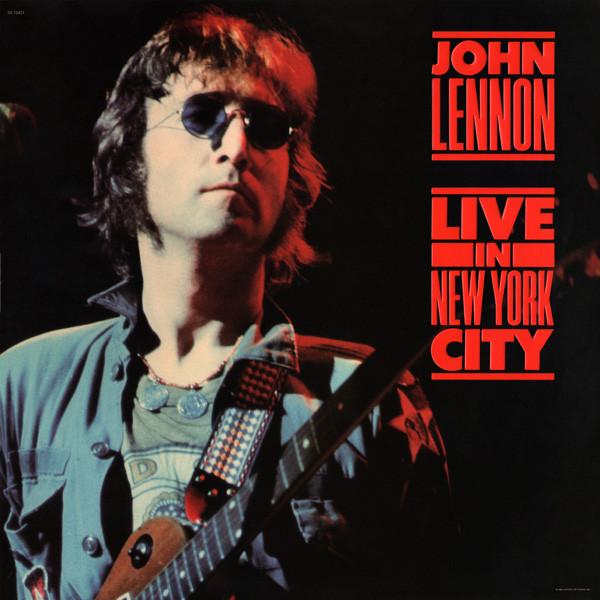 John Lennon, los discos oficiales en vivo.