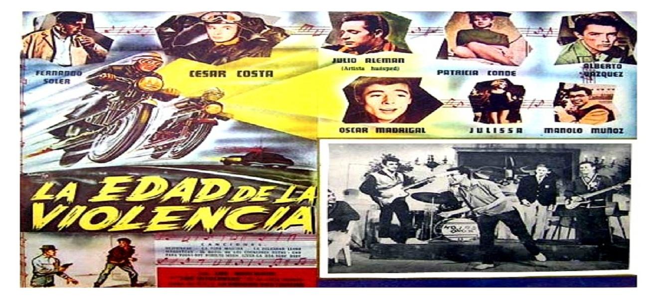 El paso del rock and roll en el cine mexicano