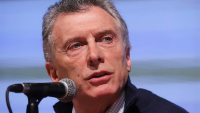 Photo of Mauricio Macri: «La grieta atrasa»