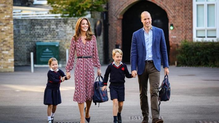 Príncipe William y Kate Middleton están orgullosos por sus hijos