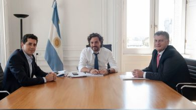 Photo of Cafiero recibió al gobernador de La Pampa Sergio Ziliotto
