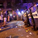 Protesta en Barcelona por decisión de condenar a líderes independentistas
