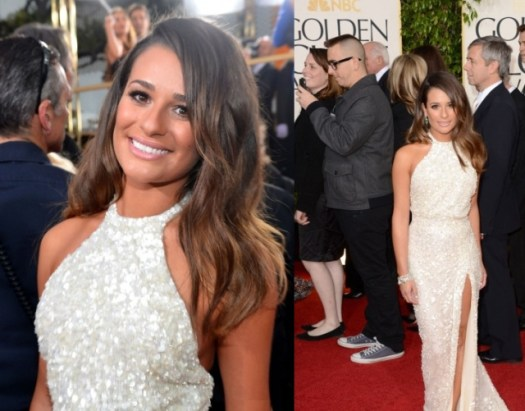 lea-michele-golden-globes-2013-01132013-02-435x580