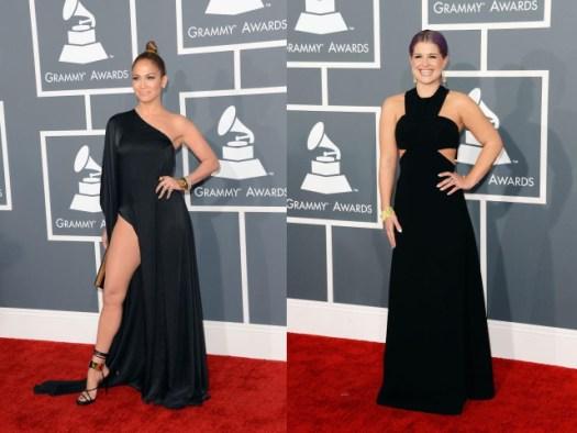 Jennifer Lopez (@JLo) lleva un tajo exagerado en un vestido de Anthony Vaccarello