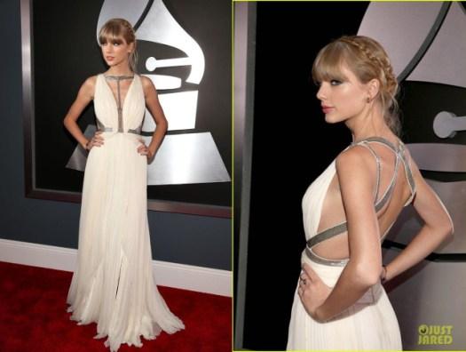 Taylor Swift (@taylorswift13) con un J Mendel blanco
