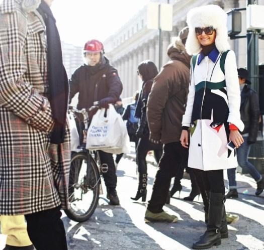 Giovanna Battaglia prada coat