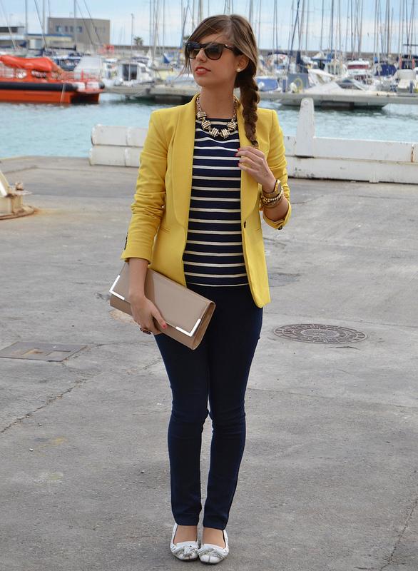 valor por dinero productos de calidad mejor lugar para 7 formas de llevar un «Blazer amarillo». – El Closet de Giuliana
