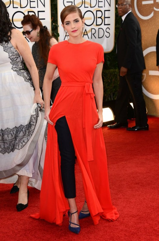 Golden-Globes-2014-Emma-Watson-s-Pants-Dress-Is-Confusing-Edgy-416748-2