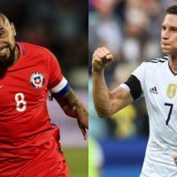 Apuesta derecha Alemania vs Chile