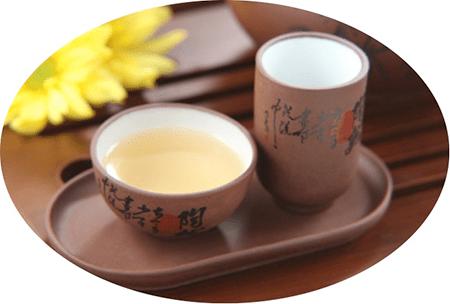 té en vaso japonés