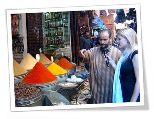 Casas de chá em Marrocos