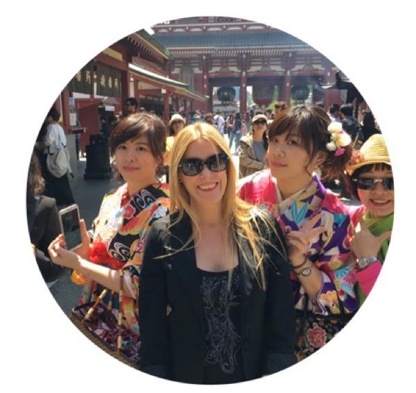 Victoria en Japón conociendo el verdadero Té Japonés